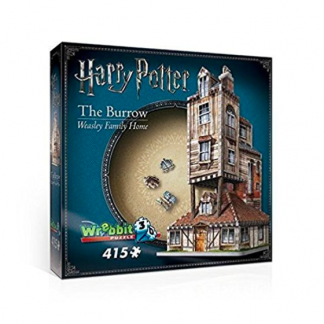 Harry Potter Weasley House The Burrow 3D puzzle