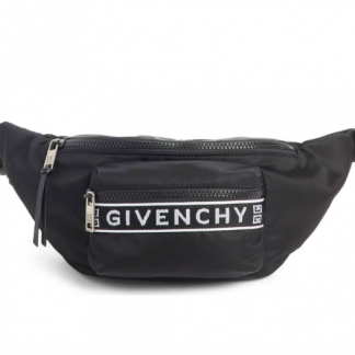Black Givenchy fanny pack