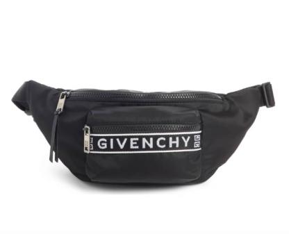 Black Givenchy fanny pack