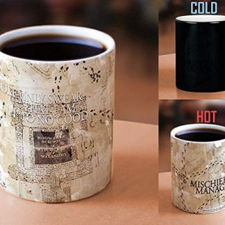 Harry Potter Marauders Map disappearing image mug