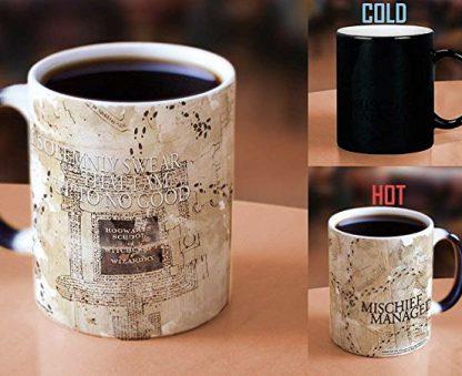 Harry Potter Marauders Map disappearing image mug