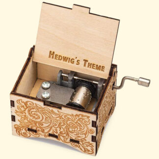 Harry Potter Music Box Hedwig's Theme - Look Inside