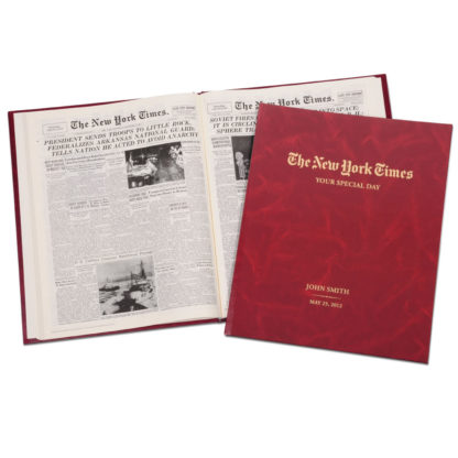 NY Times Birthday Boo in Red from Hammacher Schlemmer