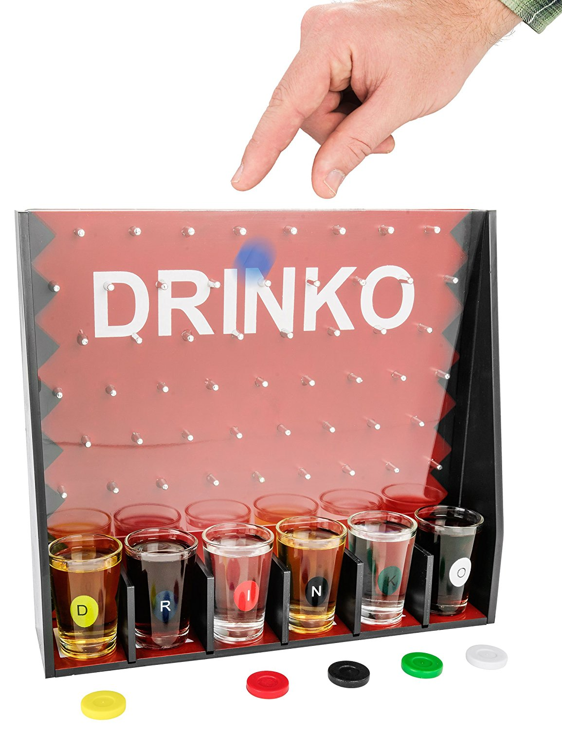 """""""Drinko"""" Plinko Style Drinking Game 