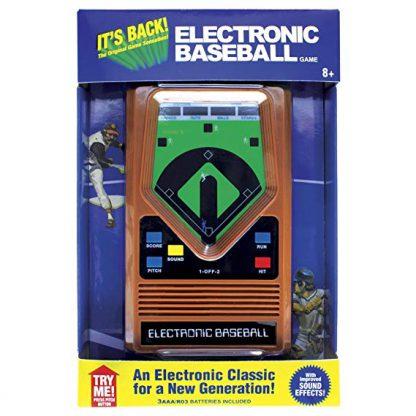 Vintage handheld electronic baseball game