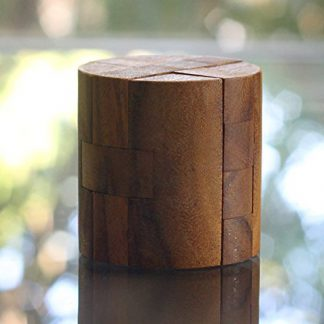 'Powder Keg' Wooden Cylinder Puzzle