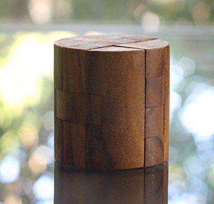 'Powder Keg' Wooden Cylinder Puzzle