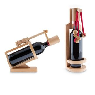 Wine Lockbox Brainteaser Puzzle