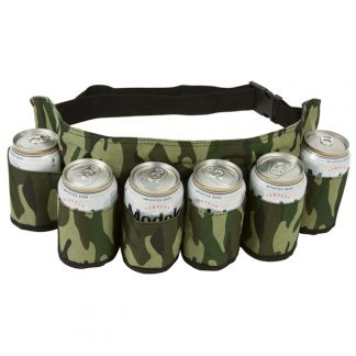 6 pack camouflage beer holster