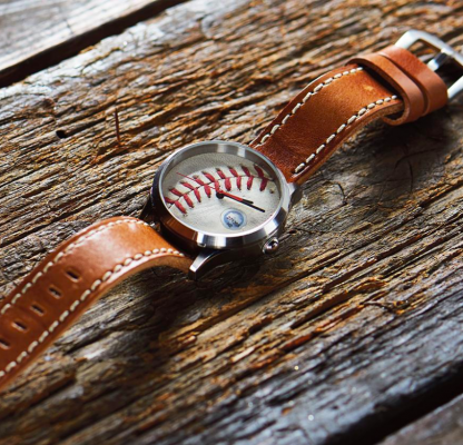 Yankees Watch Made from Game Ball