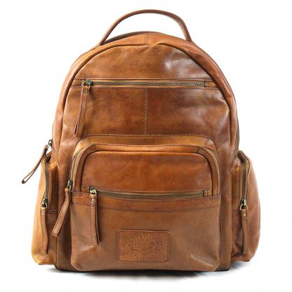 Rawlings Genuine Leather Laptop Travel Backpack