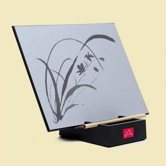 Slate Buddha Board with Brush