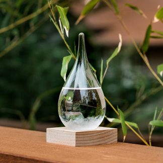Storm glass zen decoration weather glass