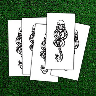 Harry Potter Dark Mark Death Eater temporary tattoos
