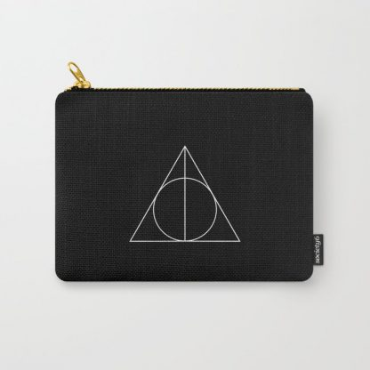 Deathly Hallows symbol change purse pouch