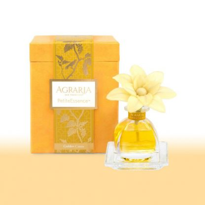 Agraria Small Wood Flower Diffuser - Golden Cassis