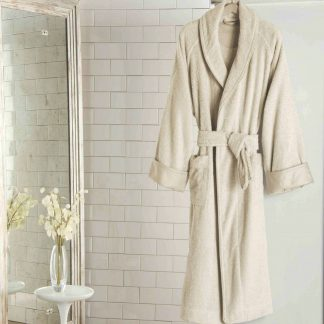 Frette Unito Shawl Collar Luxury Bathrobe