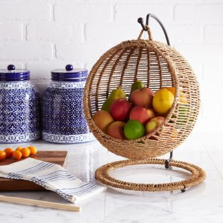 Handwoven Fruit Stand/Holder from Pier 1