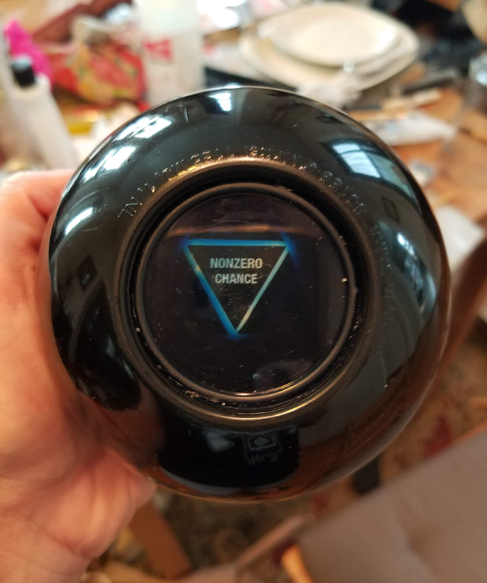 Making a Custom Magic 8 Ball - Finished product at last