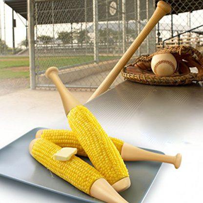 Baseball Bat Corn-on-the-Cob Holders