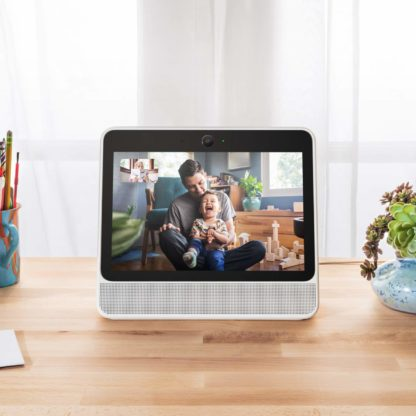 Facebook Portal - Hands-free video calling with Alexa built in