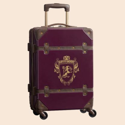 Harry Potter Luggage - Gryffindor carry on rolling suitcase from PB Teen