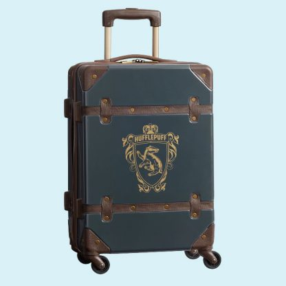 Harry Potter Luggage - Hufflepuff Carry on rolling suitcase from PB Teen