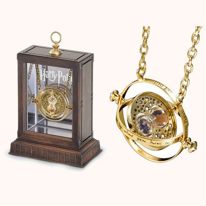 Hermione's Time Turner Official Replica from the Noble Collection and Display Case