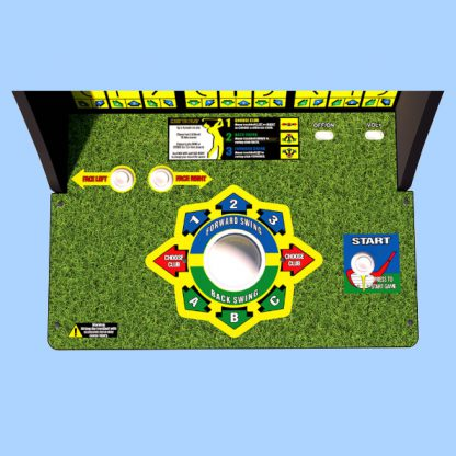 Golden Tee at Home Cabinet Full Size Controls Buttons