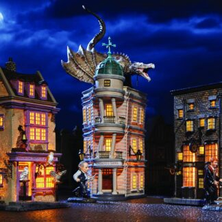 Harry Potter Christmas Village Gringott's Bank from Department 56