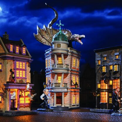 Harry Potter Christmas Village Gringott's Bank from Department 56