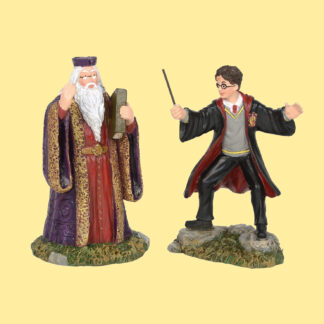 Harry and Dumbledore Figurines from Department 56