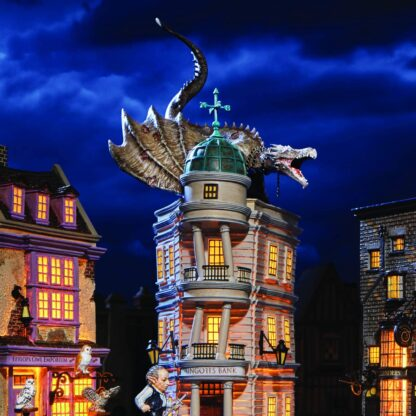 Harry Potter Blind Gringott's Dragon Figurine - Department 56-gringotts