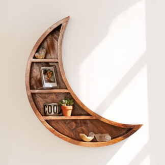 Crescent Moon Hanging Shelf from Urban Outfitters