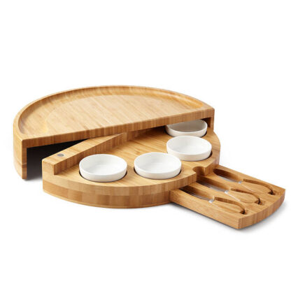 Swivel Cheese and Charcuterie Board from Uncommon Goods