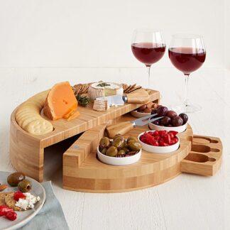 Swivel Cheese and Tapas Board
